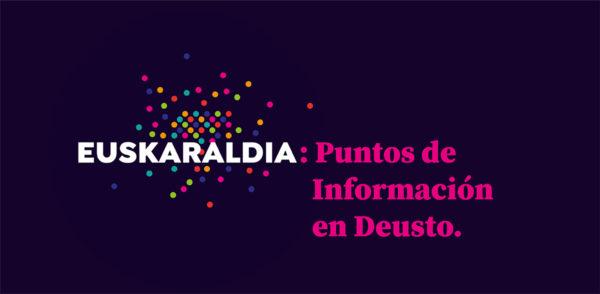 Euskaraldia: Puntos de información