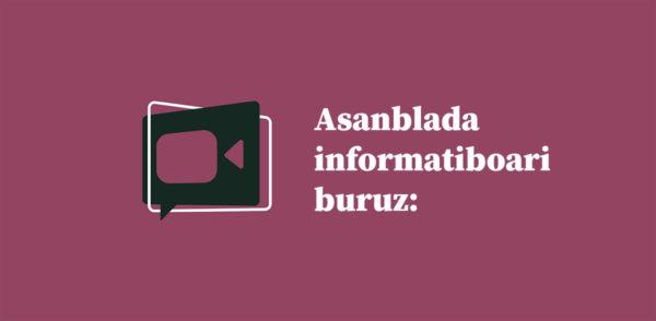 Asanblada informatiboari buruz